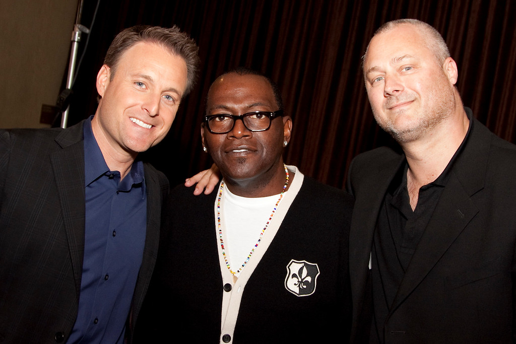 Chris Harrison (Moderator), Randy Jackson (Panelist) and Sean Perry (WME Entertainment)