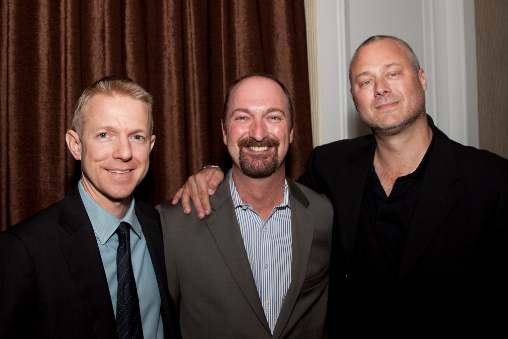Kevin Beggs (President, Lionsgate TV), Dave Ferrara (Executive Director, HRTS) and Sean Perry (WME Entertainment)