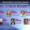 Non-Scripted Hitmakers 3-27-13 : Featuring: Deirdre Gurney, Eli Holzman, Dana White, Craig Piligian, Philip D. Segal. Moderated by Melissa Grego