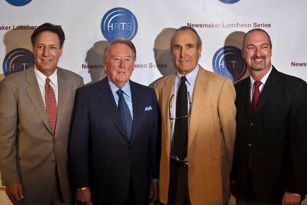 Andy Friendly, Vin Scully, Ron Shelton and Dave Ferrara.