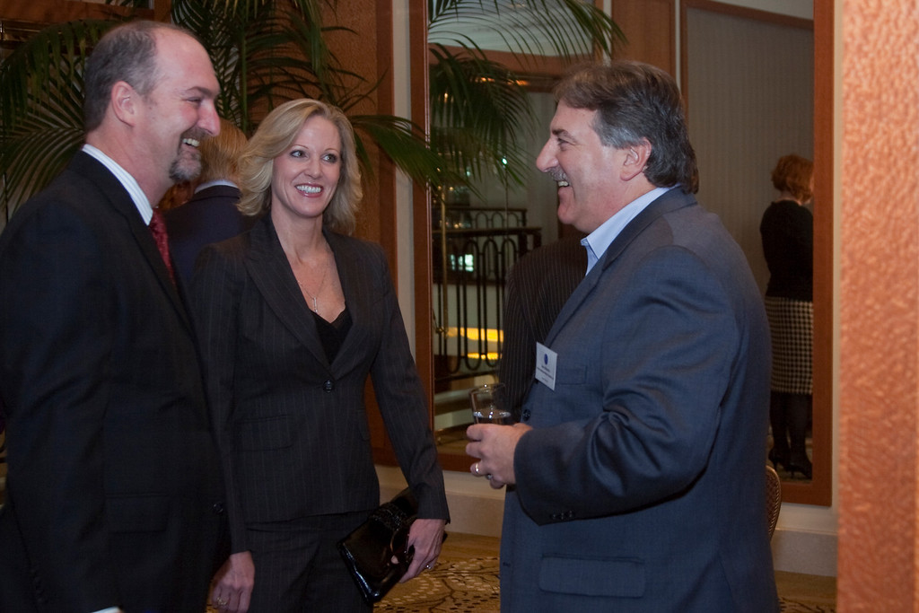 Dave Ferrara (Exec. Director, HRTS) Denise and Gary Marenzi (MGM).