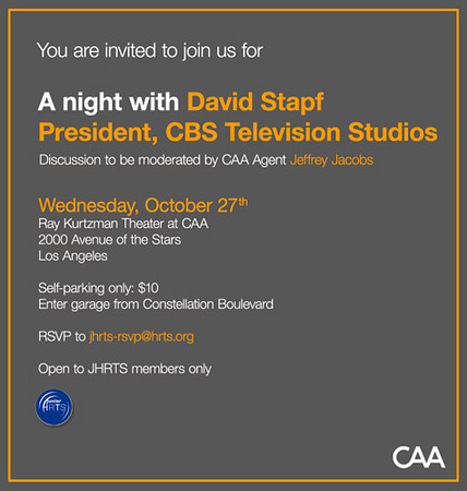 A night with David Stapf