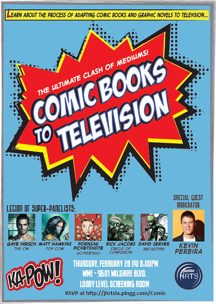 Comic Books to TV 2-28-13