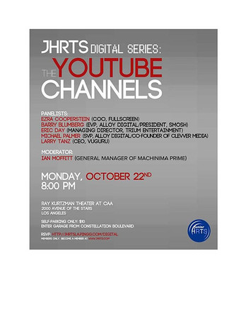 Digital Series: the Youtube Channels 10-22-12