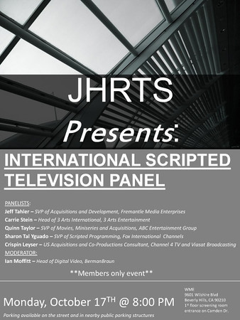 International Scripted TV -Oct17,2011